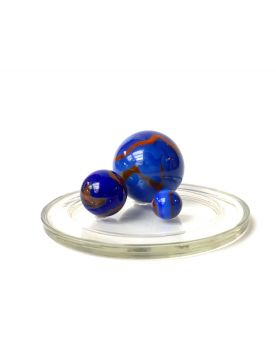 1 Family Glass Marbles Dinosaure - MyGlassMarbles
