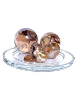 1 Family Glass Marbles Polaire - MyGlassMarbles