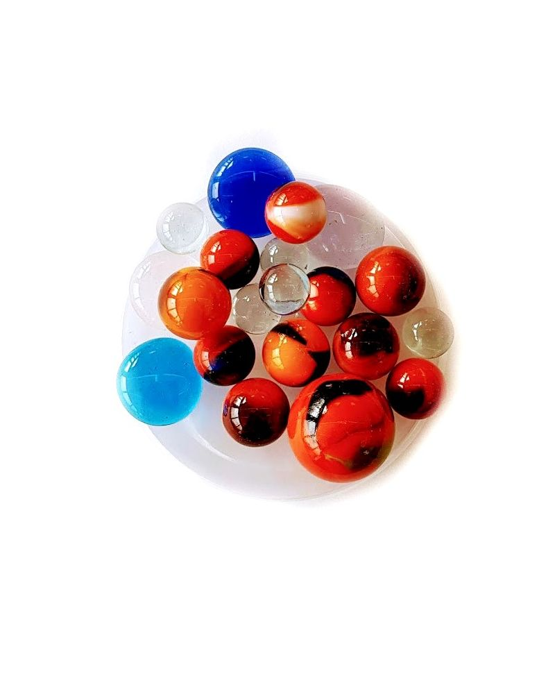 55 Marbles Salar - Glass Marble Bag - MyMarbles