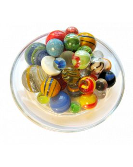 55 Marbles Luxury - Glass Marble Bag - MyMarbles