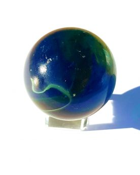 1 Giant Marble Abyss 50 mm Glass Marbles - MyMarbles