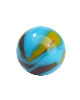 1 Giant Marble Planet Earth 50 mm Glass Marbles - MyMarbles
