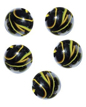 1 Shooter Marble Underground 25 mm Glass Marbles
