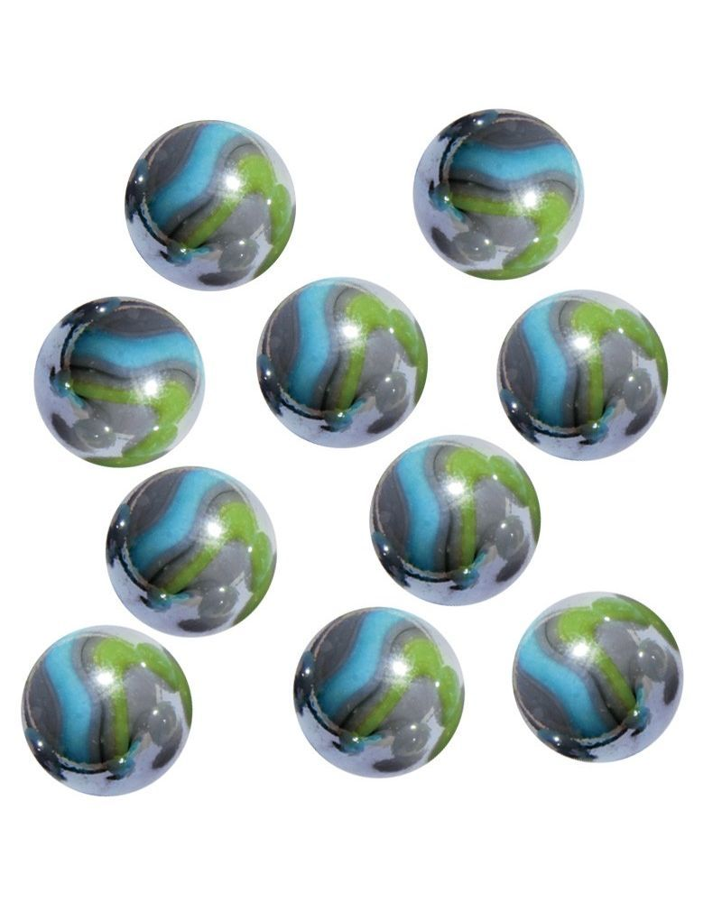 1 Little Marble Storm 14 mm Glass Marbles