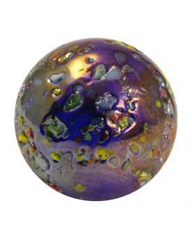 1 Large Marble Star Nugget 35 mm Glass Marbles