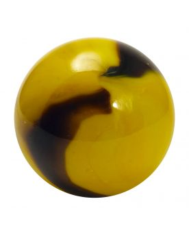 1 Large Marble Bee 35 mm Glass Marbles