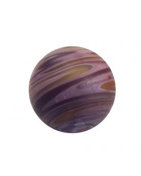 1 Art Marble Purple Sandstorm Glass Marble 16 mm