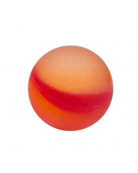 1 Marble Frosted Red Glass Marble 20 mm