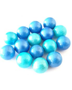 1 Marble Candy Azul Glass Marble 16 mm