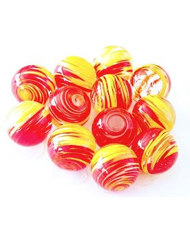 1 Art Marble Lollipop Glass Marble 16 mm