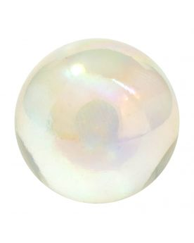 1 Shooter Marble Iridescent Crystal 20 mm Glass Marbles