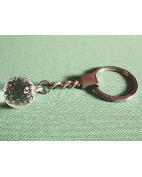 1 Golf Marble Keychain Glass Marble 20 mm