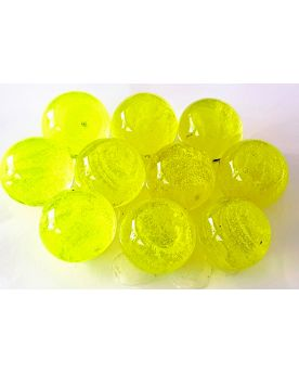 1 Fluorescent and Luminescent Marble Glass Art Marble 25 mm