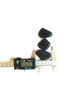 1 Flat Rock Marble - 45 mm Glass Marble
