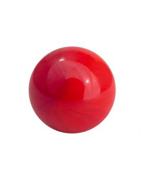 1 Big Red Pearl Marble - 25 mm Glass Marble