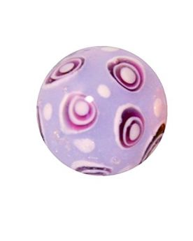 1 Art Marble Bubble Pink Glass Marble 16 mm