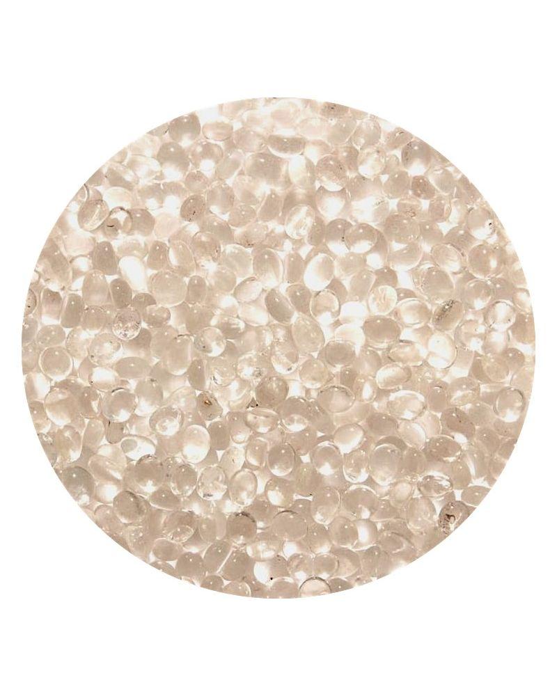1 Little Flat Marble Cristal 8 mm Glass Marbles