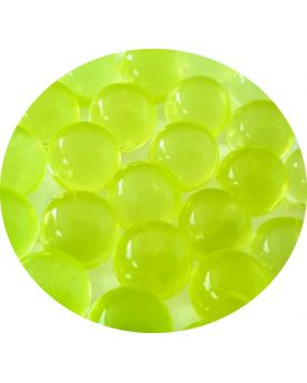 1 Marble Fluorescent Yellow 16 mm Glass Marbles