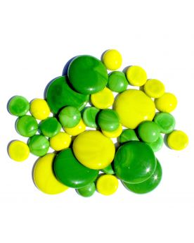 250 gr Mixing Green Opal Glass Pebble Flats Marbles 30 mm 20 mm 10 mm Decorative Glass Pebbles, St