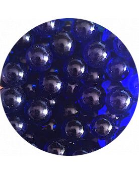 1 Small Night Blue Lense 14 mm Glass Marble