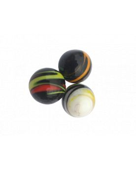 1 Big Opaque Speedy Glass Marble 25 mm
