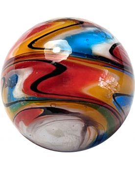 1 Speedy Art Glass Marble 25 mm