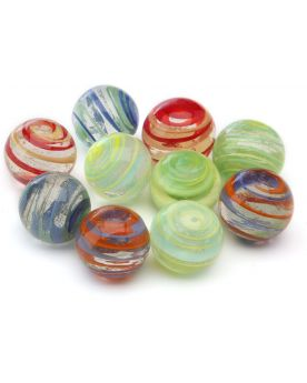 1 Big Cyclone Glass Marble 25 mm
