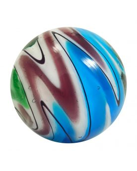 1 Big Green Speedy Art Glass Marble 25 mm