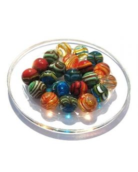 1 Spider Glass Marble 16 mm Kim'Play