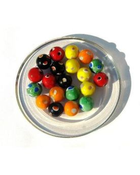 1 Marble Galactika 16 mm Glass Marbles Kim'Play
