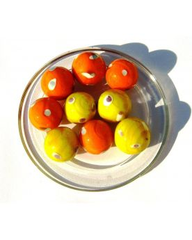 1 Shooter Marble Galactika 25 mm Glass Marbles Kim'Play