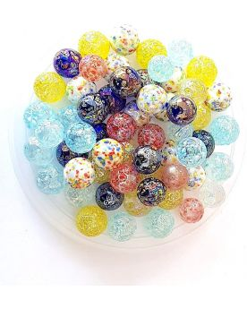 55 Nuggets Glass Marbles - SOLIDAIRE