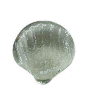 1 Shaped Crystal Shell Glass Marble 30 mm