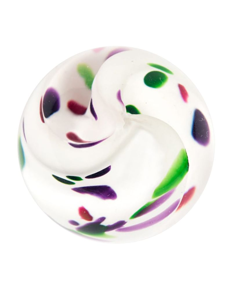 1 Confettis Art Glass Marble 50 mm