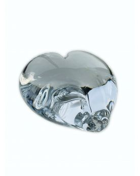 1 Crystal Glass Love Paperweight 35 mm