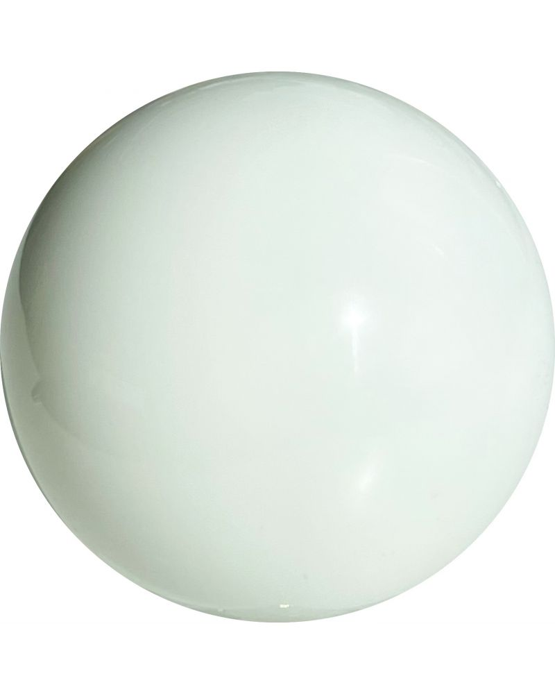 1 Mammoth Glossy White Glass Marble 50 mm HQ