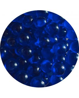 1 Small Night Blue Lens Glass Marble 12 mm