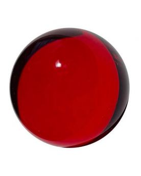 1 Bille Mammouth Loupe Rouge en Verre 40 mm HQ