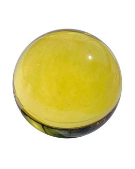 1 Bille Mammouth Loupe Jaune en Verre 40 mm HQ