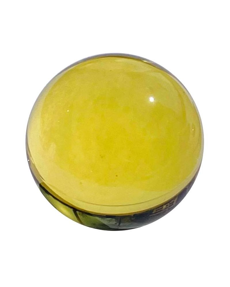 1 Mammoth Yellow Lens Glass Marble 40 mm HQ