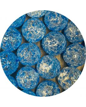 1 Marble Blue Nugget 16 mm Glass Marbles