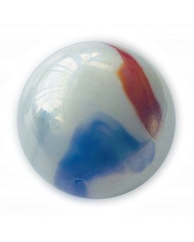 1 Mammoth French Glass Marble 50 mm