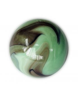 1 Very Large After Eight Glass Marble 35 mm