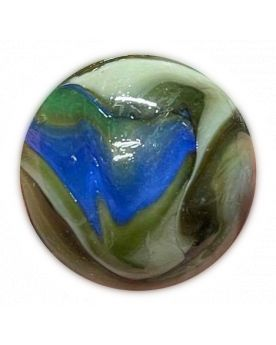 1 Whale Mountain Glass Marble 42 mm