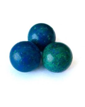 1 Big Blue Planet Glass Marble 25 mm