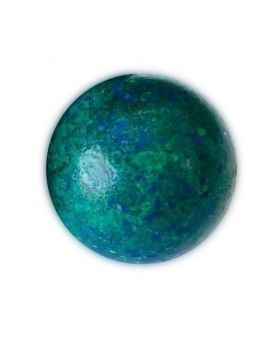 1 Blue Planet Glass Marble 16 mm