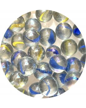 1 Fairy Glass Marble 16 mm